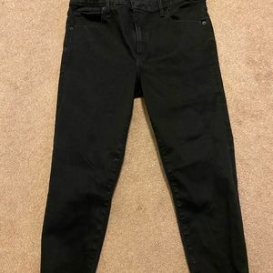 NWOT Abercrombie high rise jeans